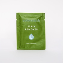 Packet of Colorsmith Stain Remover